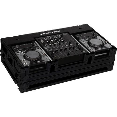 Marathon MA-CDJ12WBLK Flight Road Coffin Case MA-CDJ12WBLK
