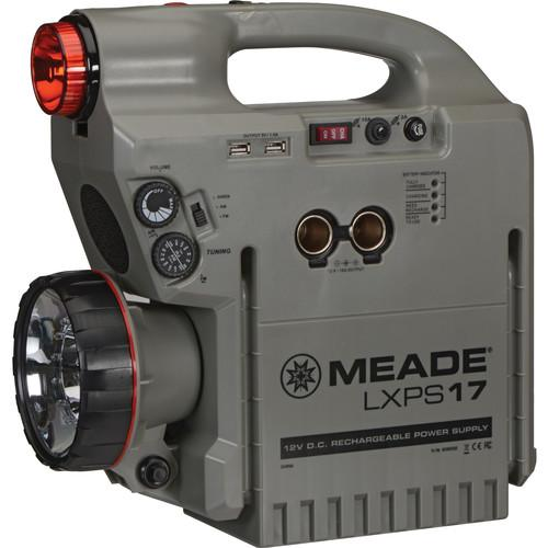 Meade  PSLXPS17 12 VDC 17 Ah Power Supply 606002