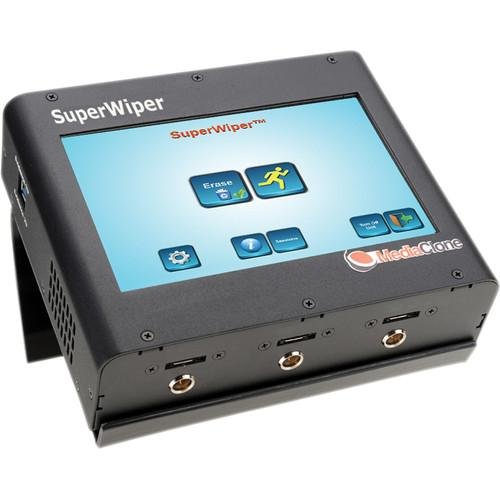 MediaClone Superwiper 7 Portable Secure Hard Drive SWM-0001