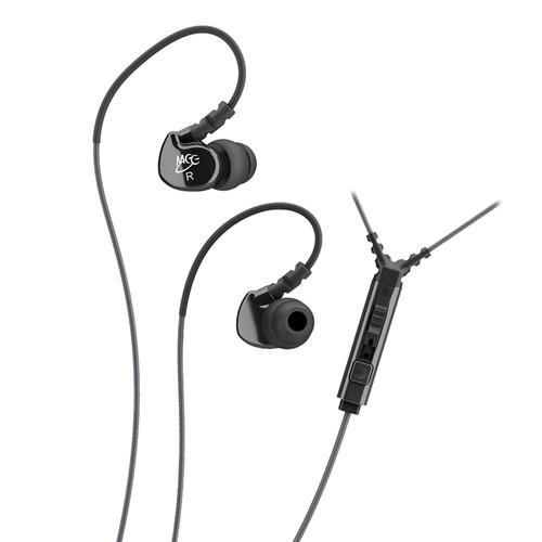 MEElectronics Sport-Fi M6P Memory Wire In-Ear EP-M6P2-BK-MEE
