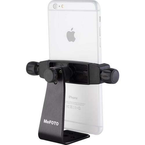 MeFOTO SideKick360 Plus Smartphone Tripod Adapter (Black)