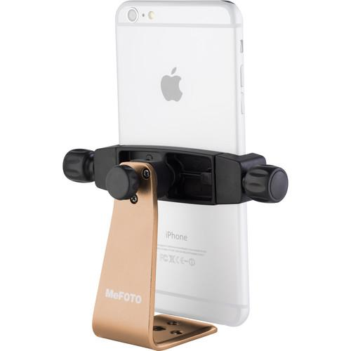 MeFOTO SideKick360 Plus Smartphone Tripod Adapter (Gold) MPH200A
