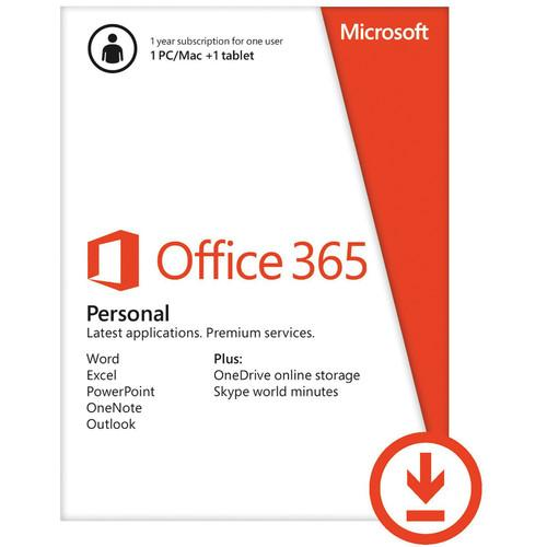 Microsoft  Office 365 Personal QQ2-00021, Microsoft, Office, 365, Personal, QQ2-00021, Video