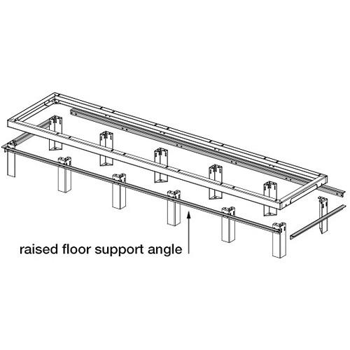 Middle Atlantic SANGLE Raised Floor Support SANGLE27-3-3642