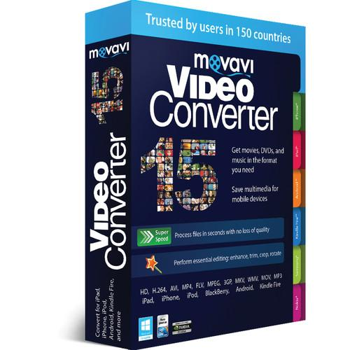 Movavi VideoConverter 15 Personal Edition (Download) MVC15PE-ESD