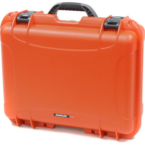Nanuk  930 Case with Foam (Orange) 930-1003