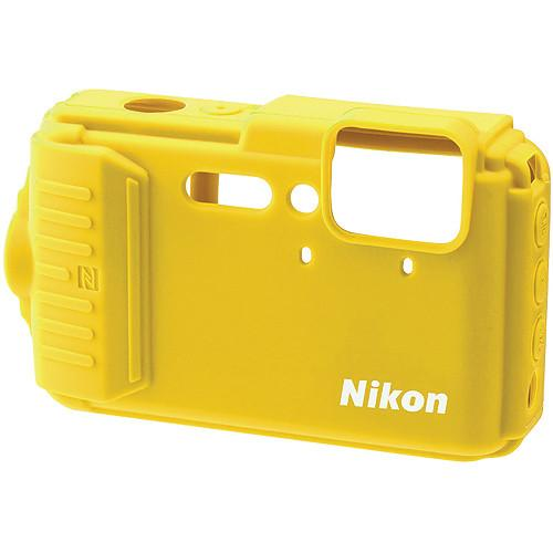 Nikon CF-CP002 Silicone Jacket for COOLPIX AW130 (Yellow) 25905