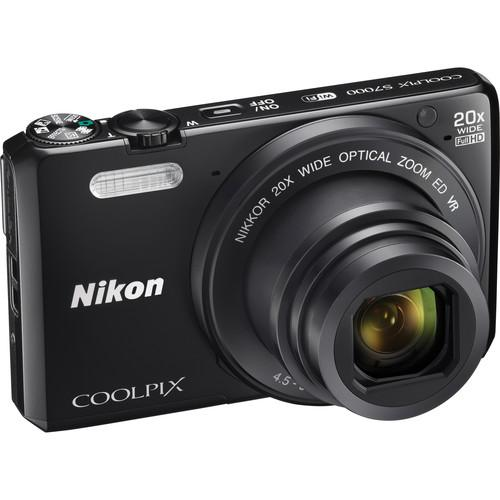 Nikon  COOLPIX S7000 Digital Camera Deluxe Kit