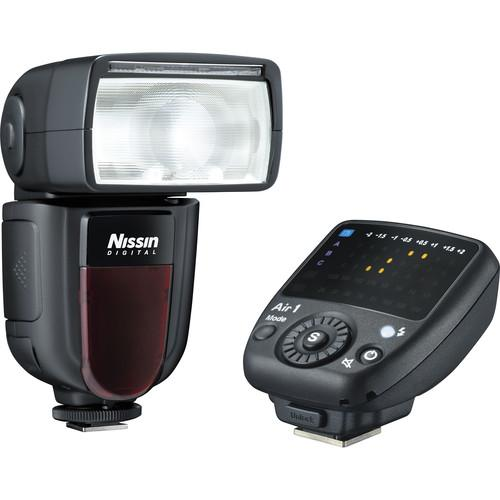 Nissin Di700A Flash Kit with Air 1 Commander for Nikon ND700AK-N