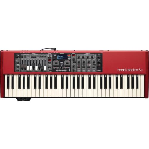 Nord Electro 5D - 61-Key Semi-Weighted Waterfall NELECTRO5D-61