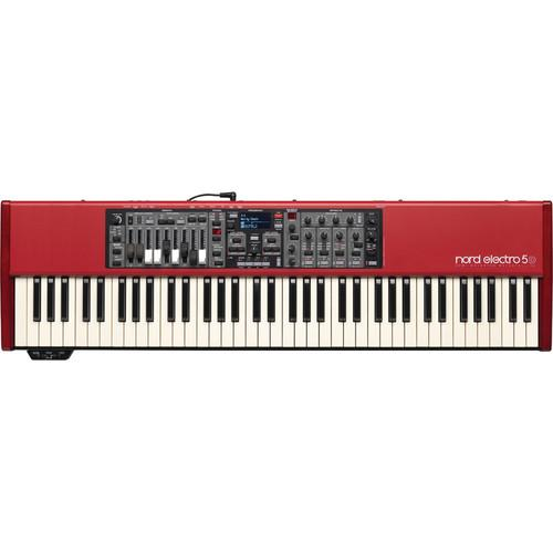 Nord Electro 5D - 73-Key Semi-Weighted Waterfall NELECTRO5D-73