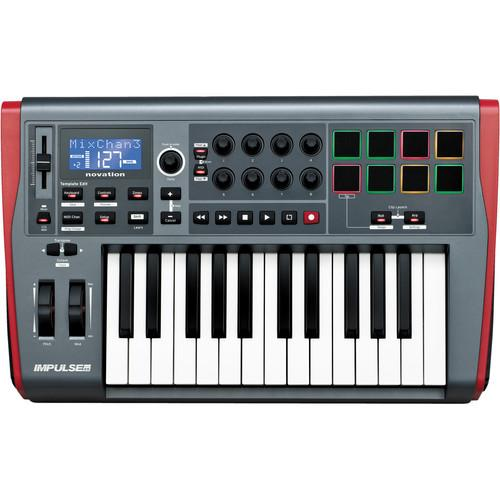 Novation Novation Impulse 25-Key Semi-Weighted Controller