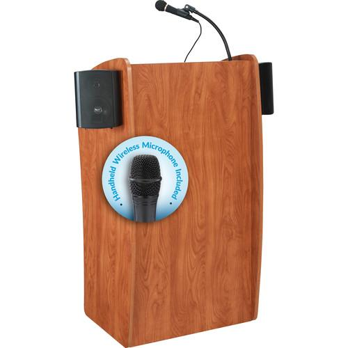 Oklahoma Sound 611-S The Vision Lectern with LMW-5 611-S/LWM-5