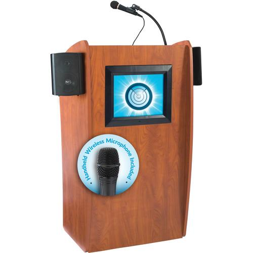 Oklahoma Sound 612-S Vision Floor Lectern with LCD 612-S/LWM-5