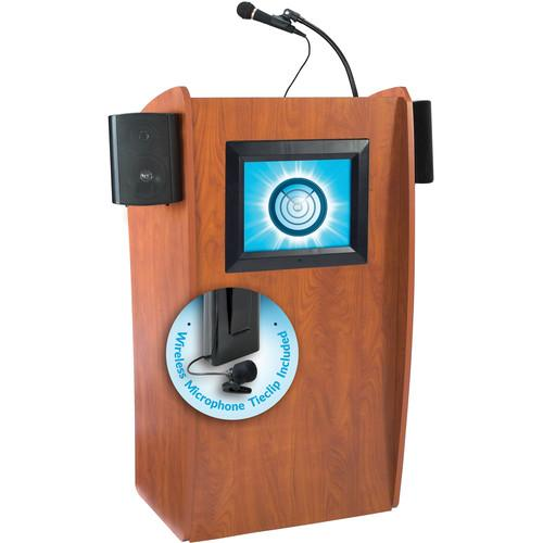 Oklahoma Sound 612-S Vision Floor Lectern with LCD 612-S/LWM-6