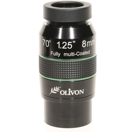 Olivon 8mm 70° Wide-Angle Eyepiece OLIVLX8-US