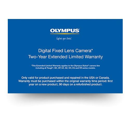 Olympus Digital Fixed Lens Camera 2-Year Extended Limited 202608