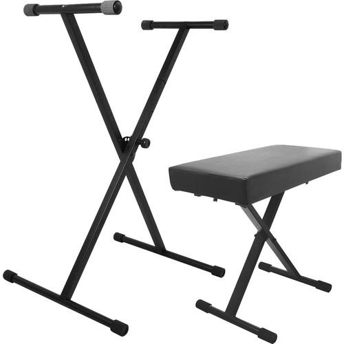 On-Stage  Keyboard Stand And Bench Pack KPK6500