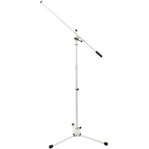 On-Stage MS7801W Euro-Boom Mic Stand (White) MS7801W