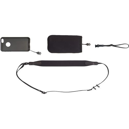 OP/TECH USA Smart Sling Cover Kit for iPhone 5S (Black) 4401001