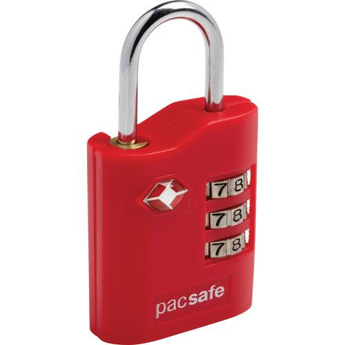 Pacsafe Prosafe 700 TSA-Accepted Combination Lock (Red) 10230300