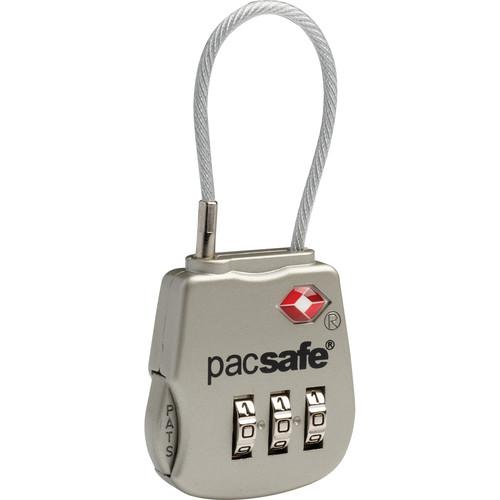 Pacsafe Prosafe 800 TSA-Accepted 3-Dial Cable Lock 10250705