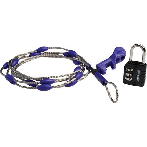 Pacsafe Wrapsafe Anti-Theft Adjustable Cable Lock 10520999