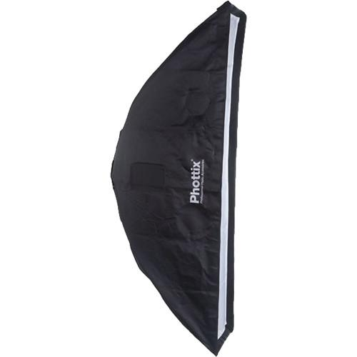 Phottix 2 in 1 Strip Softbox with Grid (14 x 56
