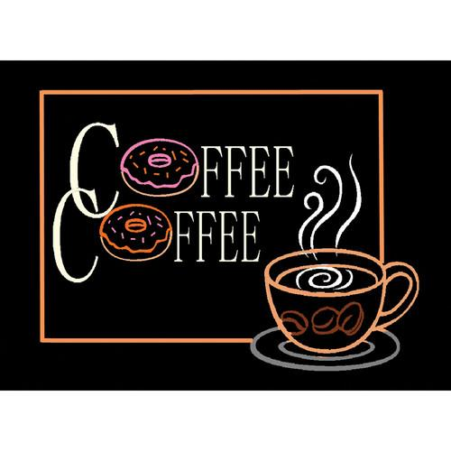 Porta-Trace / Gagne LED Light Panel with Coffee Logo 1118-COFFEE