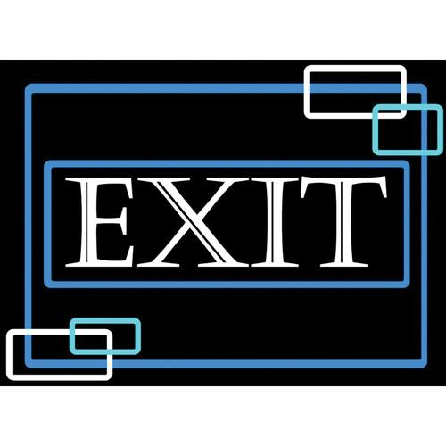 Porta-Trace / Gagne LED Light Panel with Exit Logo 1824-EXIT 2