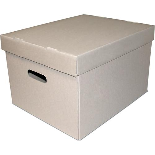 Print File GSB-LET/LEG Record Storage Box (Light Gray) 285-5000