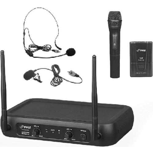 Pyle Pro PDWM2140 VHF Dual-Frequency Wireless System PDWM2140