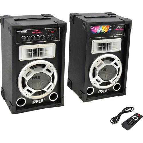 Pyle Pro PSUFM837BT Disco Jam Powered 2-Way PA PSUFM837BT