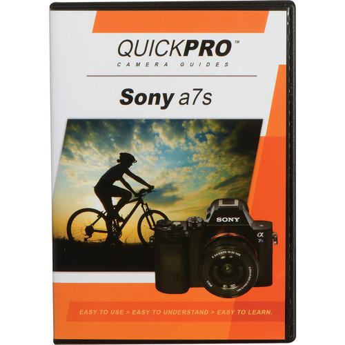 QuickPro DVD: Sony a7S Instructional Camera Guide 5102