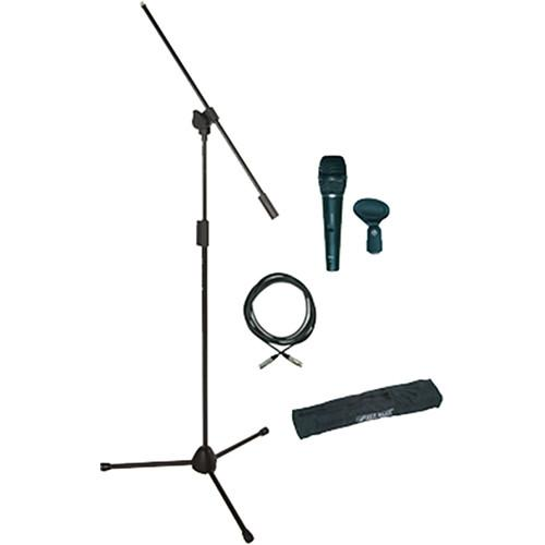 QuikLok A302BK Microphone Kit with Mic Stand/Mic A-302PACK-2