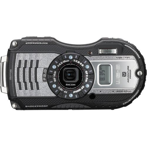 Ricoh  WG-5 GPS Digital Camera (Gunmetal) 04653