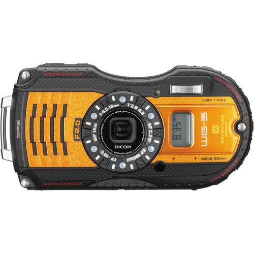 Ricoh  WG-5 GPS Digital Camera (Orange) 04664