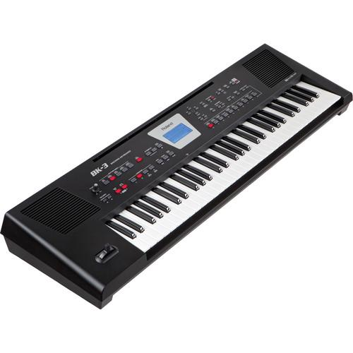 Roland  BK-3 Backing Keyboard (Black) BK-3-BK