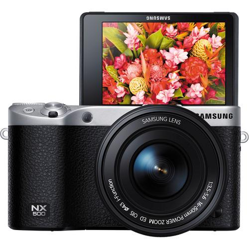 Samsung NX500 Mirrorless Digital Camera EV-NX500ZBMIUS