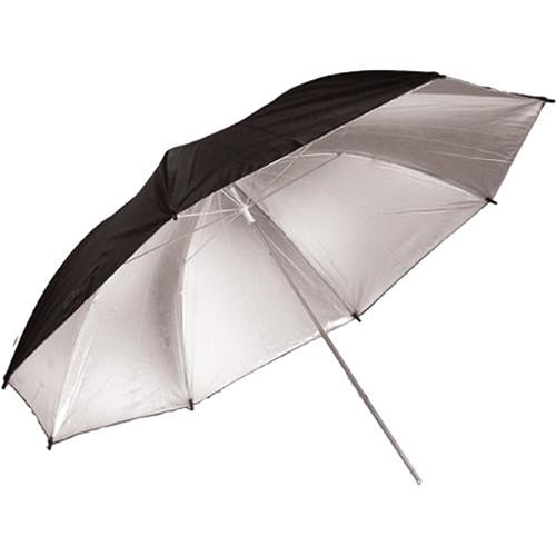 Savage Black and Silver Umbrella (36