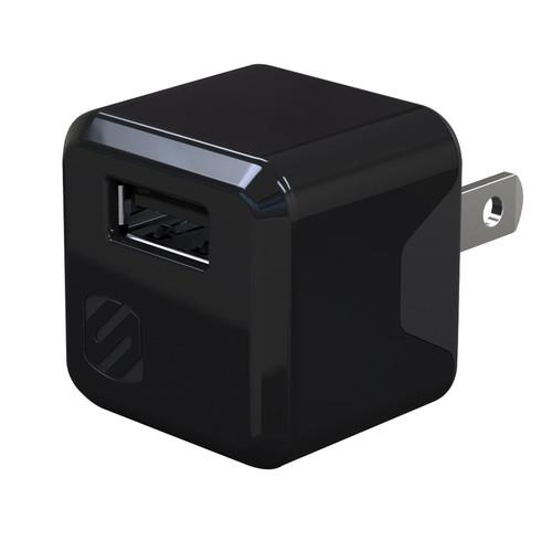 Scosche superCUBE Compact USB Wall Charger (Black) USBH121M