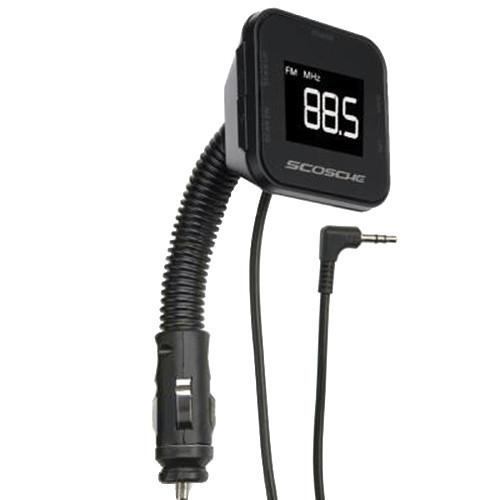 Scosche tuneIT Digital FM transmitter with Backlit FMTD3R