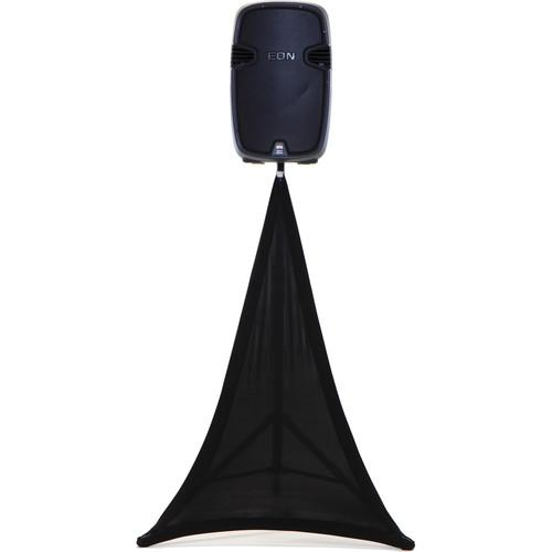 SCRIM KING Speaker Stand Scrim (Single-Sided, Black) SS-SPKB