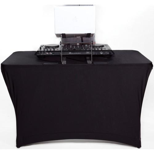 SCRIM KING Table Scrim (4', Closed Back, Black) SS-TBL402B