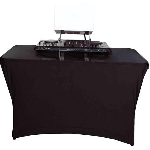 SCRIM KING Table Scrim (4', Open Back, Black) SS-TBL401B