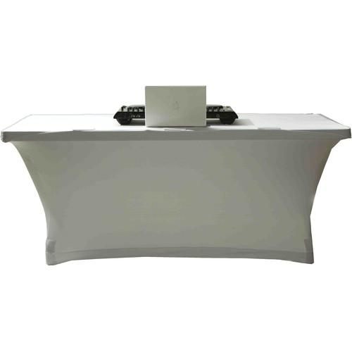 SCRIM KING Table Scrim (6', Closed Back, White) SS-TBL02W