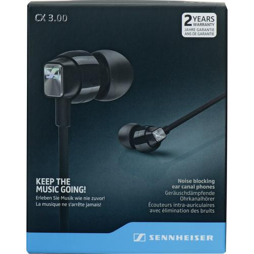 Sennheiser  CX 3.00 Earphones (Black) 506232
