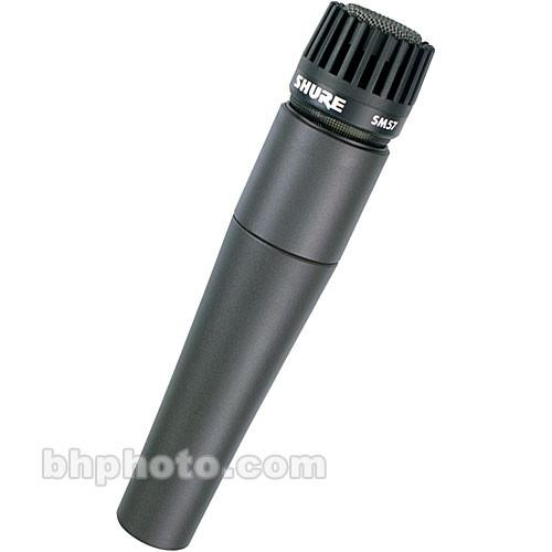 Shure  SM57-LC Microphone and Windscreen Kit