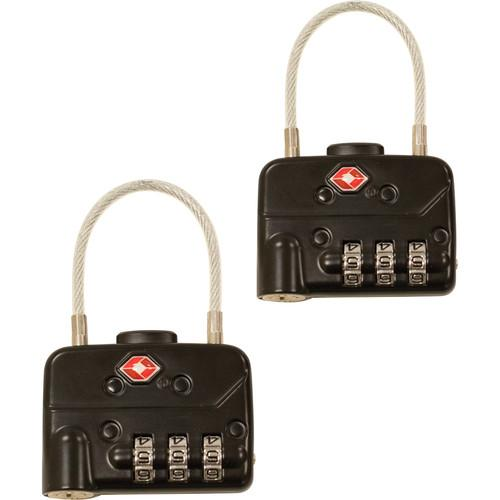 SKB TSA Combination Cable Padlocks (2-Pack) 1SKB-PDL-C