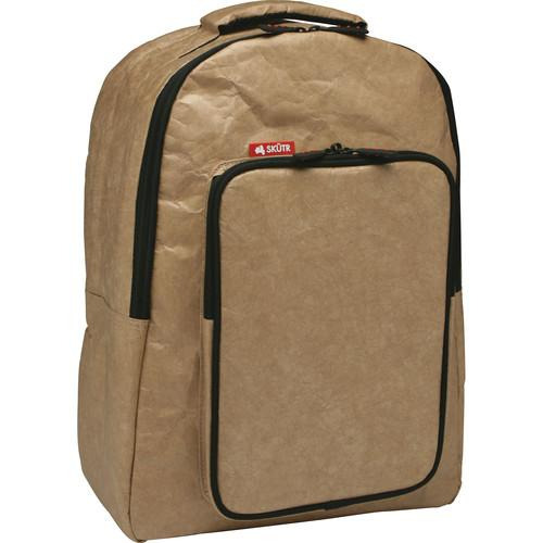 Skutr backpack   tablet Bag (Brown, Tyvek) BP2-BR